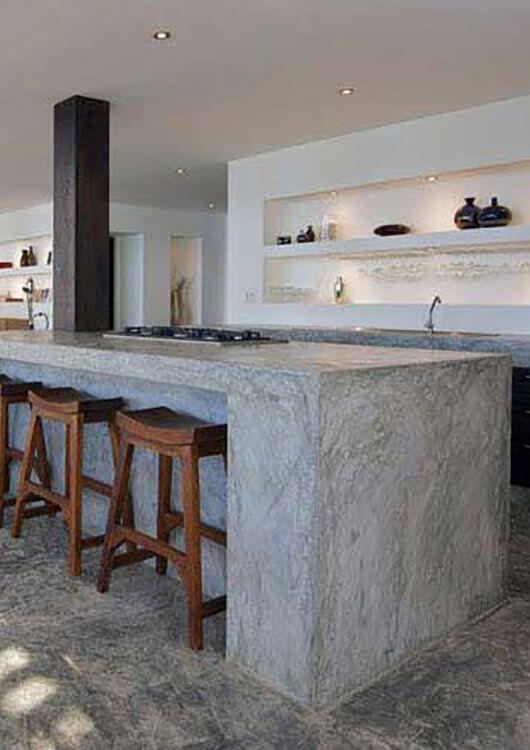 Concrete table top Perth service